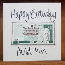 FB2236 Happy Birthday Auld Yin (£1)