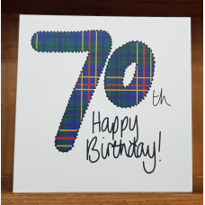 FB2227 Happy Birthday 70th