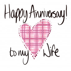 FB3051 Happy Anniversary Wife