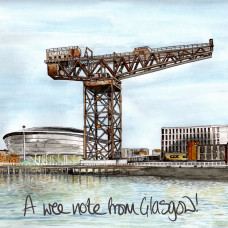 FB3047 Wee Note from Glasgow - Finnieston Crane