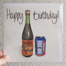 FB3059 Happy Birthday Buckfast and Irn Bru