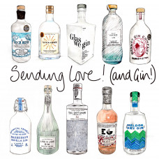 FB3045 Sending Love and Gin