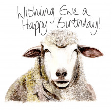 FB2251 Wishing Ewe a Happy Birthday!