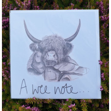 FB1706 - A Wee Note  (Heilan Coo)