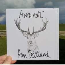 FB1922 A Wee Note from Scotland - Stag