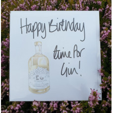FB1924 Happy Birthday Time for Gin