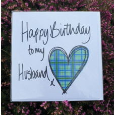FB1755 Happy Birthday to my Husband