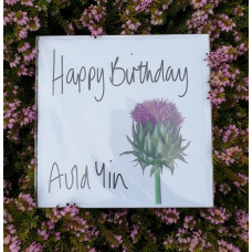FB1716 - Happy Birthday Auld Yin (Thistle)