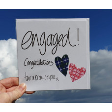 FB1932 Engaged! Congratulations tae a braw couple