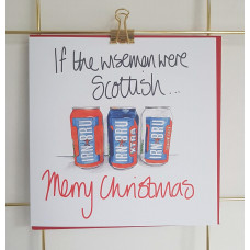 FB1976X If the wisemen were Scottish - Irn Bru Cans